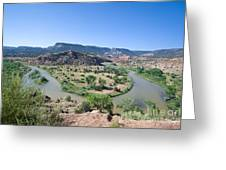 Rio Chama River  Greeting Card