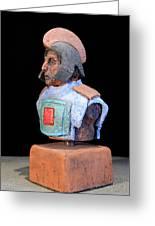 Roman Legionaire - Warrior - Ancient Rome - Roemer - Romeinen - Antichi Romani - Romains - Romarere Greeting Card by Urft Valley Art
