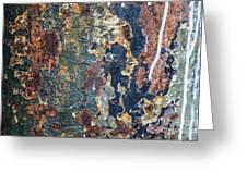 Rust Closeup  Greeting Card