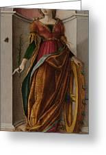 Saint Catherine Of Alexandria Greeting Card