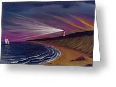 Sankaty Head Lighthouse Nantucket Greeting Card