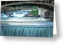 Scenes Around Spokane Washington Downtown Greeting Card