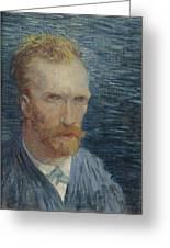 Self-portrait Paris July   August 1887 Vincent Van Gogh 1853  1890 Greeting Card