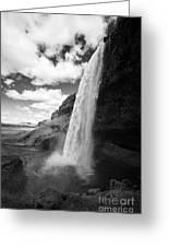 Seljalandsfoss Waterfall Iceland Greeting Card
