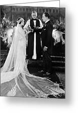 Silent Film Still: Wedding Greeting Card