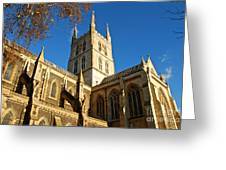Southwark Cathedral Greeting Card