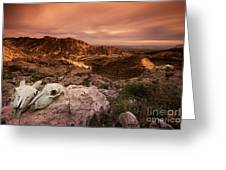 Spanish Landscape Greeting Card