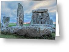 Stonehenge - England Greeting Card