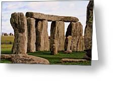 Stonehenge England United Kingdom Uk Greeting Card