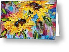 Sunflower Joy Greeting Card