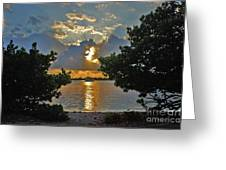 3- Sunrise Cruise Greeting Card