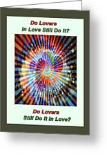 Supernova Of Love Greeting Card
