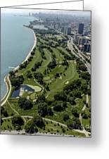 Sydney R. Marovitz Golf Course  Greeting Card