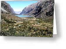 The Andes Greeting Card