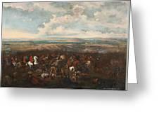 The Battle Of Oudenaarde Greeting Card