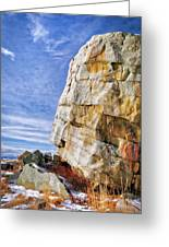 The Big Rock Greeting Card