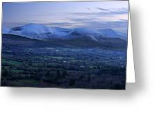 The Galtees  Ireland's Tallest Inland Mountains Greeting Card