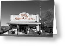 The Likely General Store - California  Greeting Card