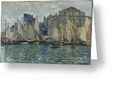 The Museum At Le Havre Greeting Card