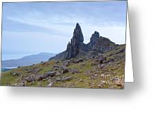 The Old Man Of Storr Greeting Card