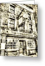 The Prospect Of Whitby Pub London Vintage Greeting Card