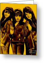 The Ronettes Collection Greeting Card