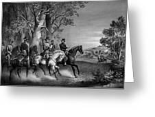 The Surrender Of General Lee Greeting Card