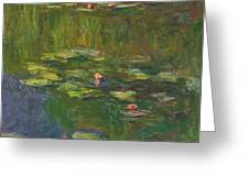 The Water Lily Pond Greeting Card