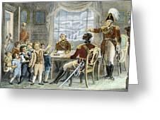 Thomas Gage, 1721-1787 Greeting Card