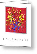 Tickle Monster Greeting Card