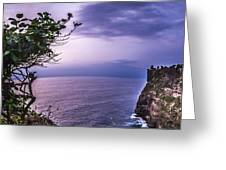 Uluwatu Temple Greeting Card