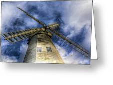 Upminster Windmill Essex Greeting Card