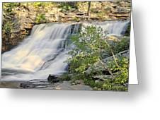 Upper Provo River Falls  Greeting Card