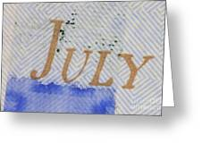 Us 100 Dollar Bill Security Features Greeting Card