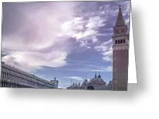 Venice, San Marco Greeting Card