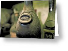 Very Old Wine In France Greeting Card