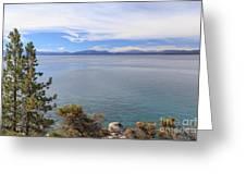 View Across Lake Tahoe Greeting Card
