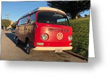 Volkswagen Bus T2 Westfalia Greeting Card