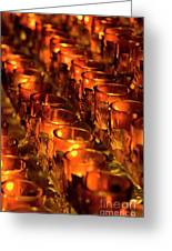 Votive Candles. Greeting Card