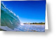 Wave Photo Greeting Card