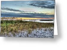 Yorktown Beach At Sunrise Greeting Card