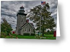 30-mile Point Lighthouse 3197 Greeting Card
