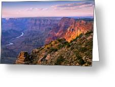 Canyon Glow Greeting Card