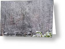 3003-snowscape Greeting Card