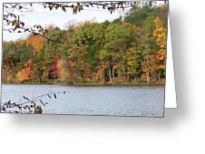 3008-fall Waterscape Greeting Card