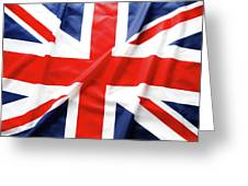 British Flag 6 Greeting Card