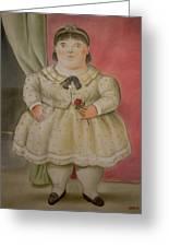 Bogota Museo Botero Greeting Card