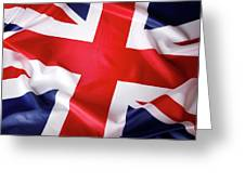 British Flag 7 Greeting Card