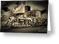 3254 In Old-time Look Greeting Card