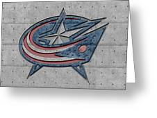 Columbus Blue Jackets Greeting Card
